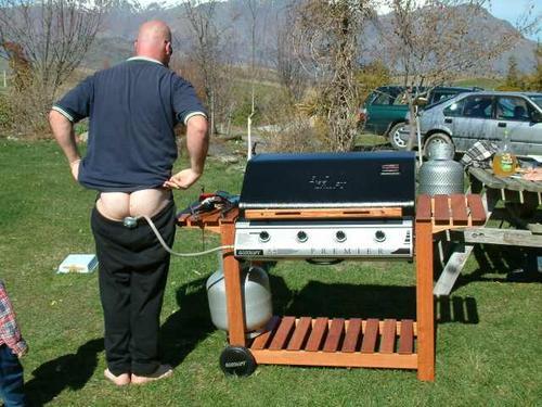 Barbacoa a gas