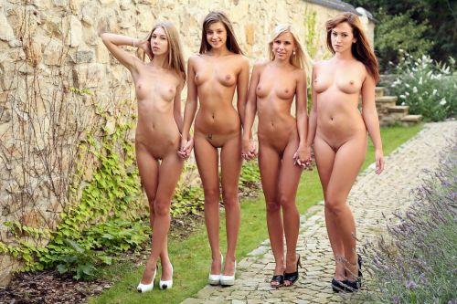 Cuatro de nuestras locas se van de paseo