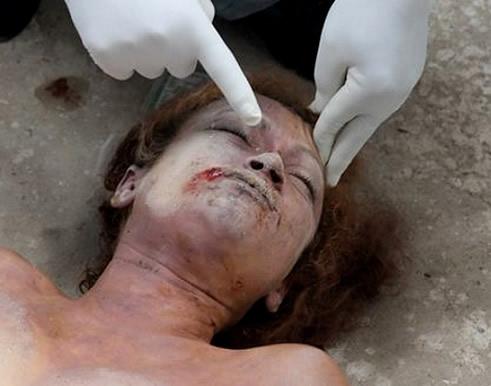 Violada con un tubo de drenaje y asesinada
