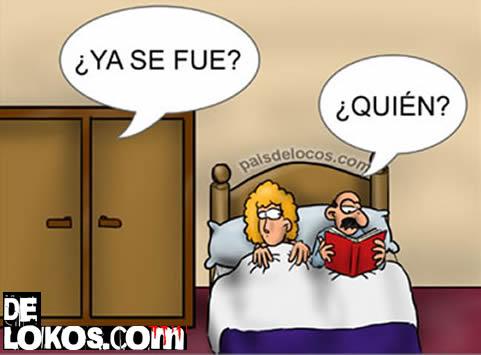 Amante en el armario