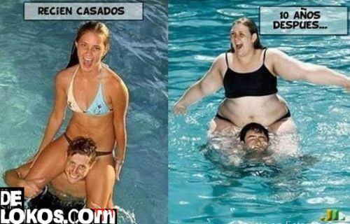 Matrimonios, antes y despues