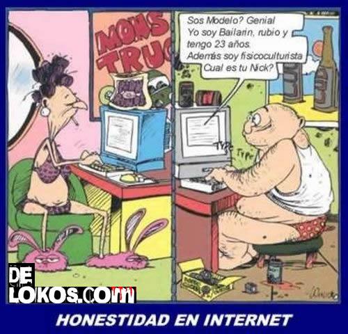 Sinceridad en internet