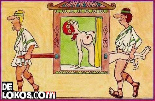 Porno en la antiguedad