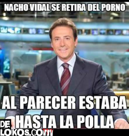 Nacho Vidal se retira del porno