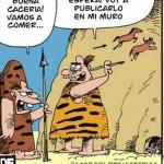 Imagen Facebook en la Prehistoria