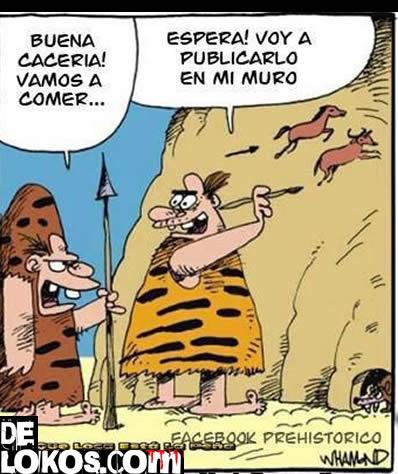 Facebook en la Prehistoria