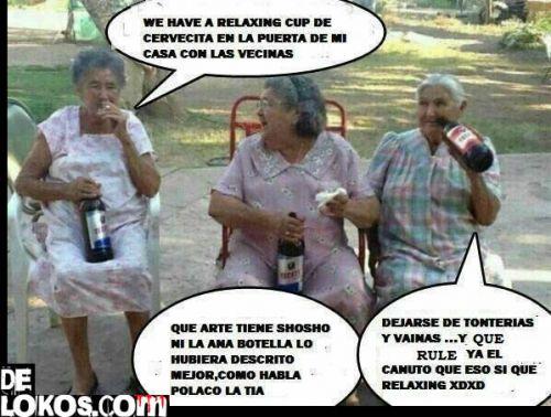 Relaxing Cup de Cervecitas