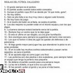 Imagen Reglas de Futbol Callejero