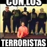 Imagen Con los terroristas