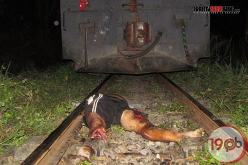Fotos Atropellado por un tren