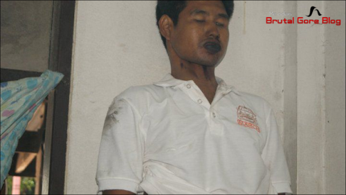 Fotos de muertes, Asesino a su esposa y despues se suicido
