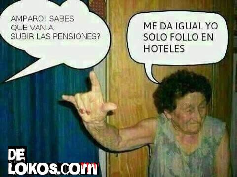 Suben las pensiones !!
