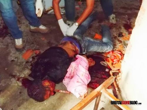 Fotos gore de un Macabro asesinato