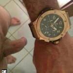 Imagen Mirad el reloj que me han regalado