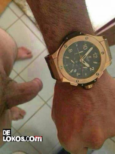 Mirad el reloj que me han regalado
