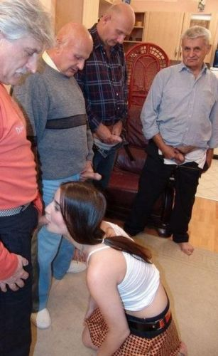 Mi hermana ama a mi abuelo y a sus amigos