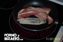 Bacon a la leche