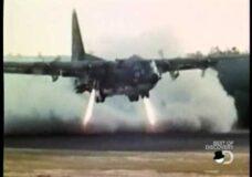 Imagen Hercules modificado para despegar y aterrizar en poco espacio.