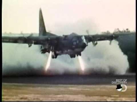 Hercules modificado para despegar y aterrizar en poco espacio.