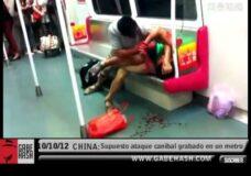 Imagen Canibalismo en el metro de China