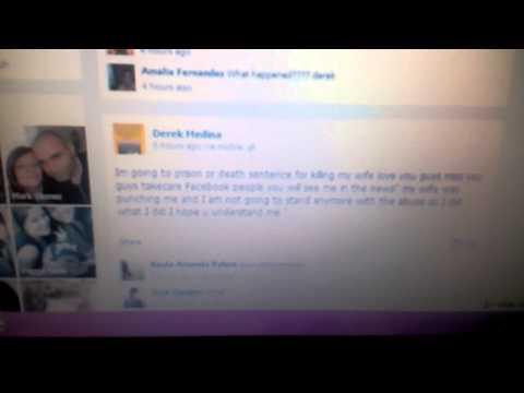 Asesina a su mujer y publica la foto en Facebook
