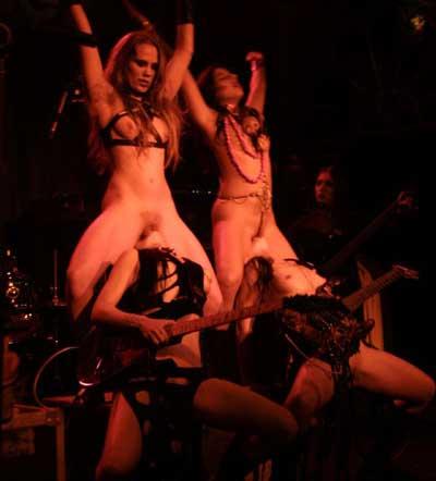 La orquesta BANDA BIZARRA Y SEXUAL: ROCKBITCH