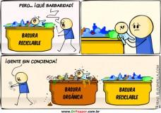 Imagen Conciencia del reciclaje.