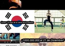 Imagen Nostradamus y Gangnam Style