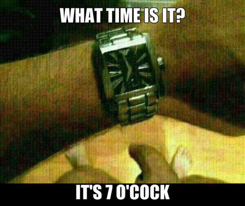 Que hora es ?