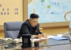 Imagen Kim Jong-Un planeando un ataque