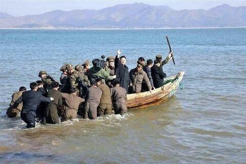 Ejército norcoreano atacando con su mayor baza