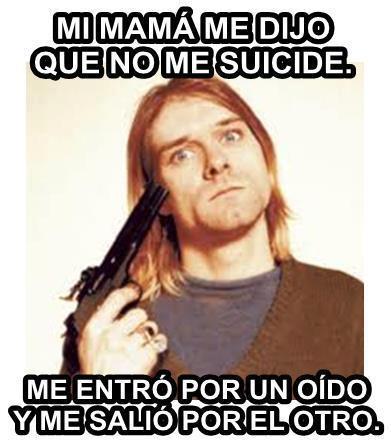 Kurt Cobain no escuchó a su madre