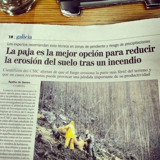 Hazte pajas para combatir los incendios forestales