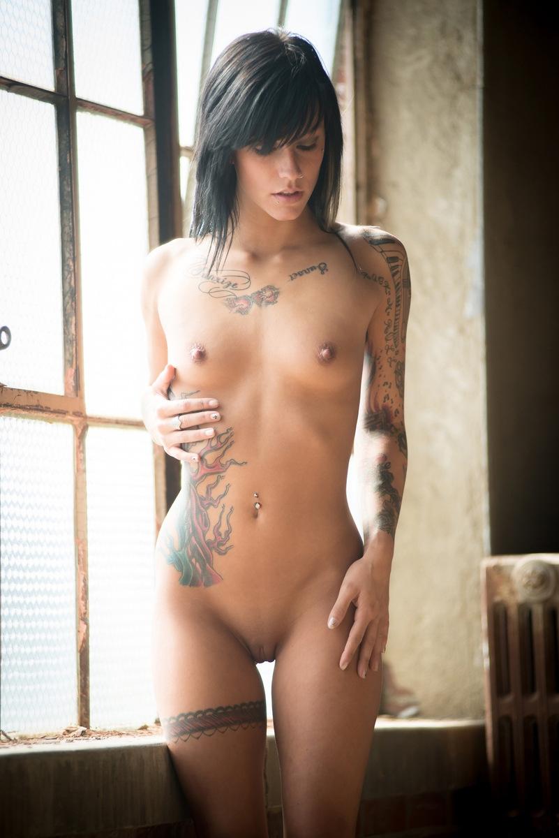 chicas tatuadas amateurs