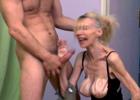 Vieja senil sale de la residencia para grabar porno