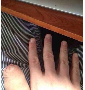 Dedos como pollas
