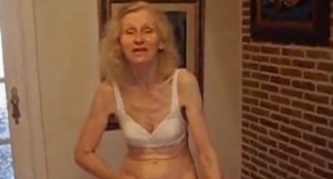 Enfermo pervertido folla con una vieja abuela