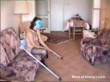 Sexo con Mujeres sin piernas