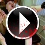 Brutal penetración al coño de una mujer