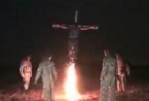Torturado y Crucificado