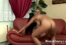 Follando con las piernas amputadas
