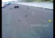 Imagen Vagina arrancada de su cuerpo en el accidente