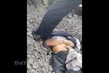 Anciano muerto por el atropello de un tren