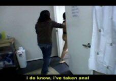 Imagen A grabar porno no puedes ir borracha que te cagas encima