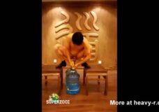 Imagen Alargamiento de pene con botellas de agua