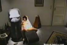 la silla de la muerte miniatura