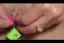 candados para vaginas miniatura