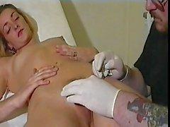 Piercing en el pezón y en el clítoris