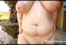 Gorda Grasienta desnuda