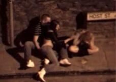 Imagen Sexo en la calle con chicas borrachas